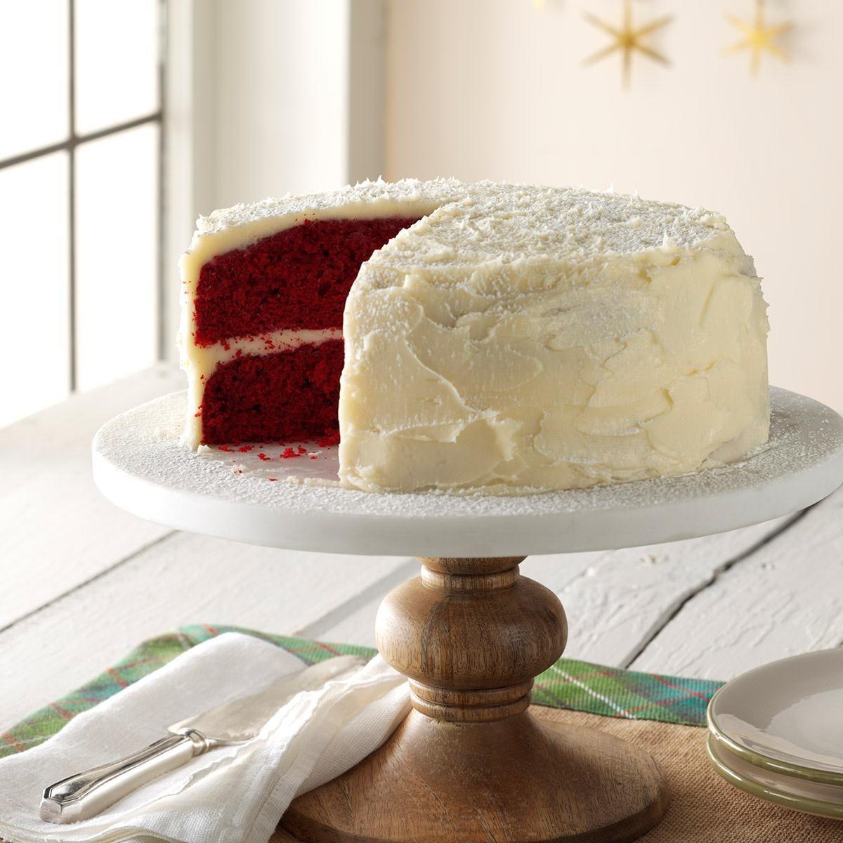 Grandma S Red Velvet Cake