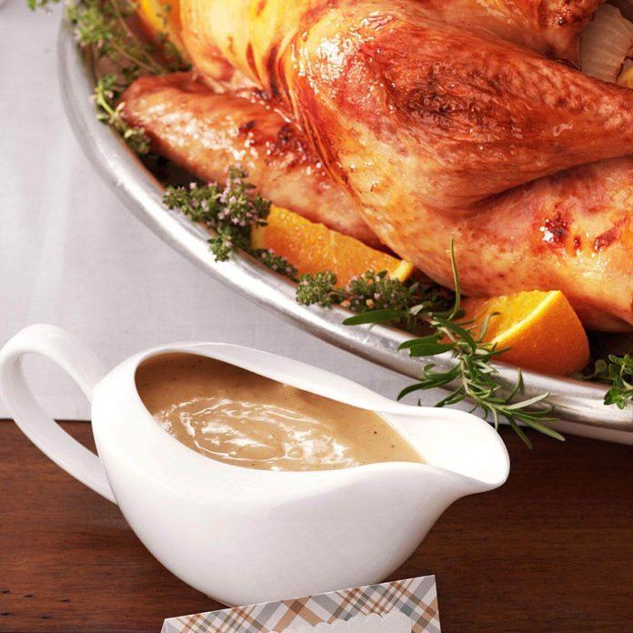 Grandma's Turkey Gravy