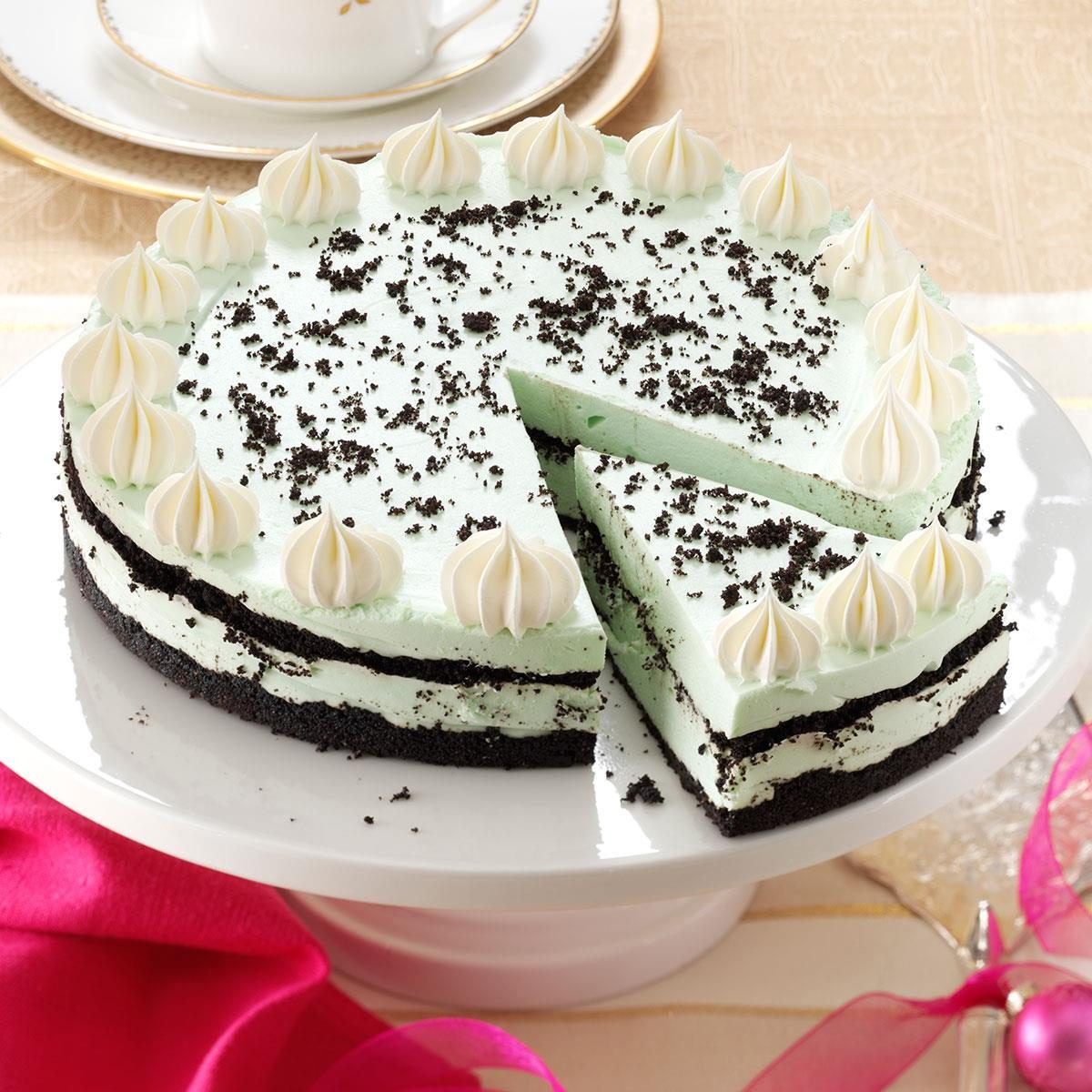 Grasshopper Cheesecake Recipe | Taste of Home