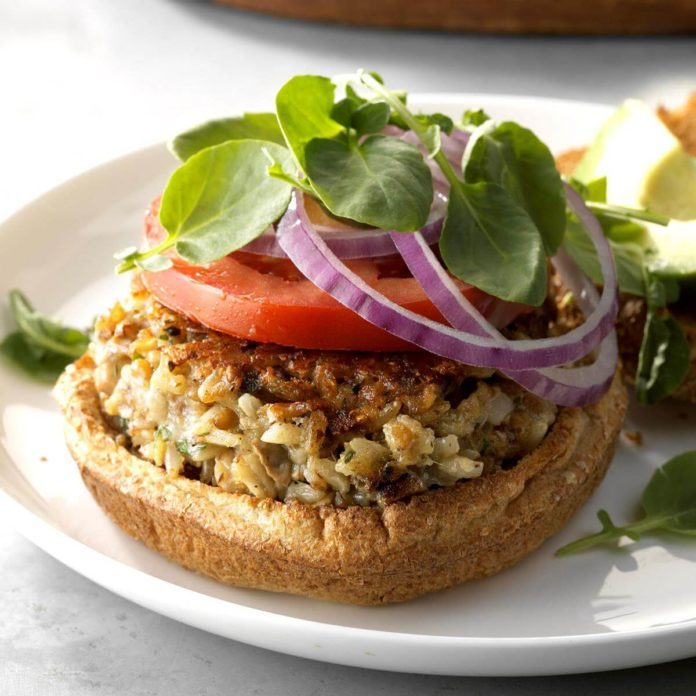 Inspired by: Rock Bottom's Veggie Burger