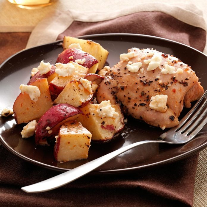 Greek Feta Chicken