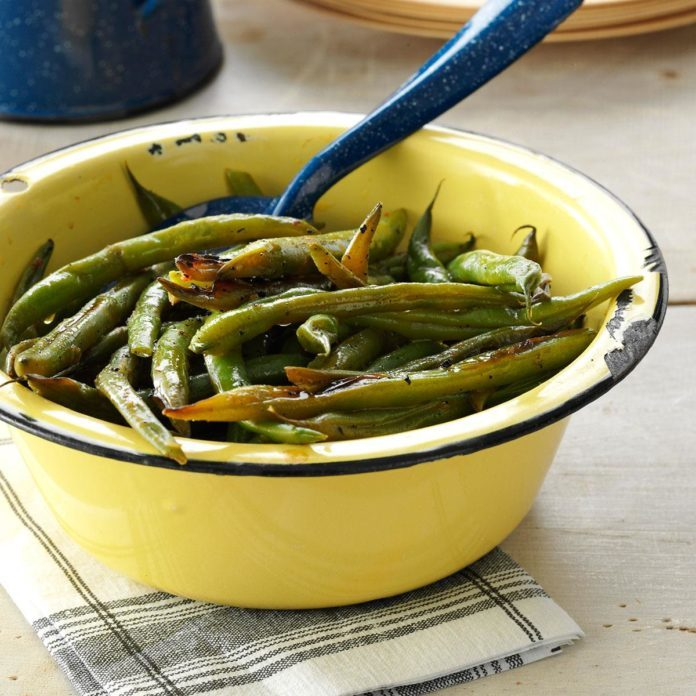 Inspired by: Garlicy Green Beans