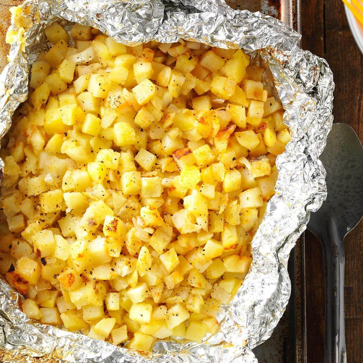 Grilled Hash Browns Recipe