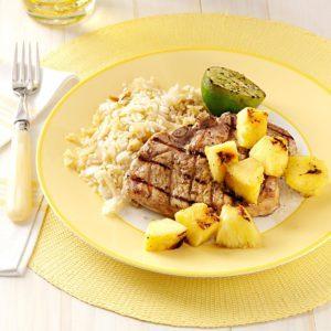Grilled Jerk Chops