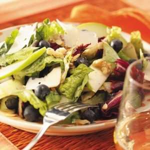 Grilled Mixed Green Salad