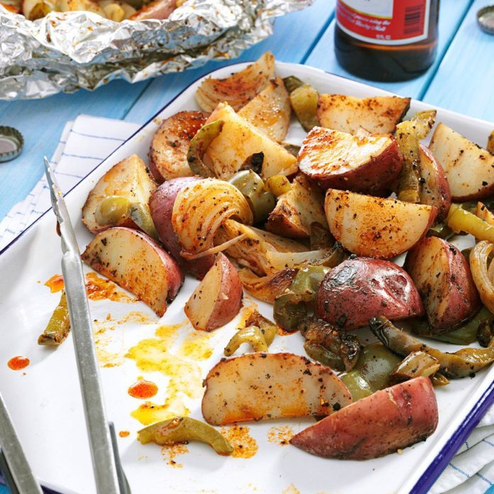 #19: Grilled Potatoes & Peppers