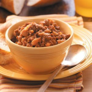 Ground Beef Baked Beans