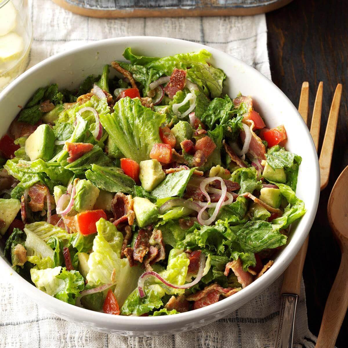 Guacamole Tossed Salad Recipe