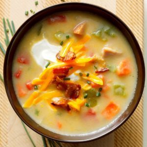 Ham, Potato and Pepper Chowder