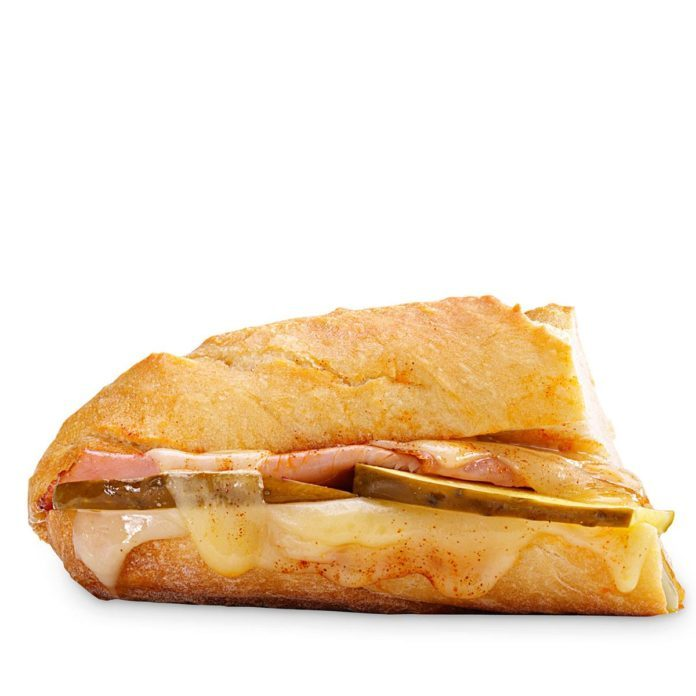 Inspired by: Ham & Swiss Cafe Sandwich