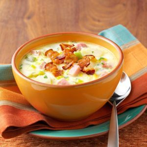 Ham and Corn Chowder