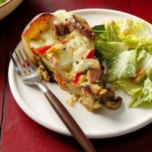 Ham and Potato Frittata