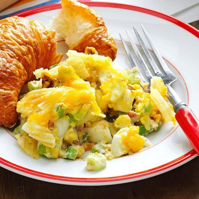 Hard-Boiled Egg Casserole
