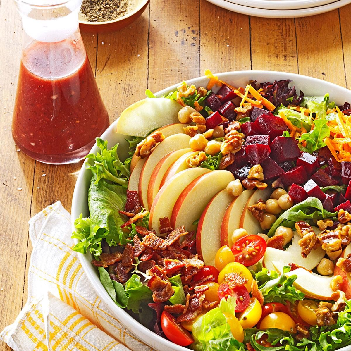 Harvest Salad with Cherry Vinaigrette