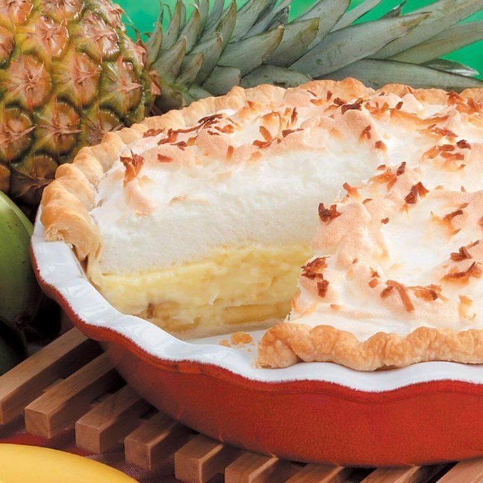 Hawaiian Cream Pie