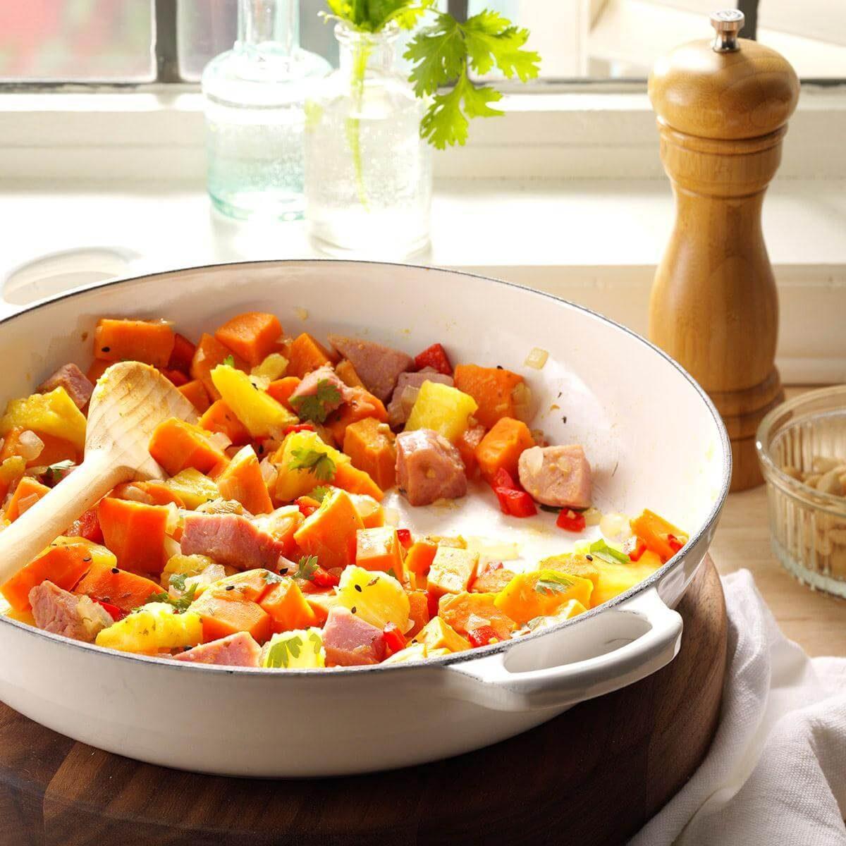 Ham with Hawaiian Salsa and Sweet Potatoes forecasting
