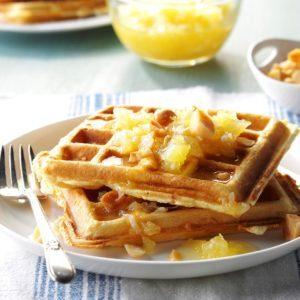 Hawaiian Waffles