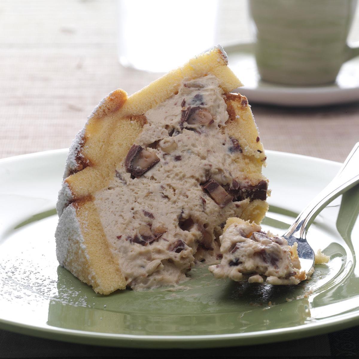 70 Saucy Creamy And Cheesy Italian Christmas Food Recipes: Hazelnut Toffee Zuccotto Recipe