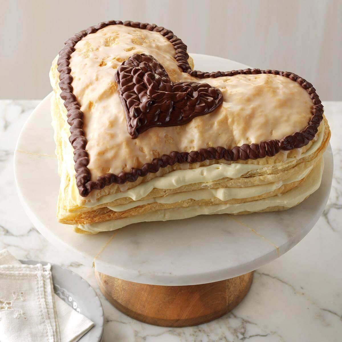 Heart S Delight Eclair Recipe Taste Of Home