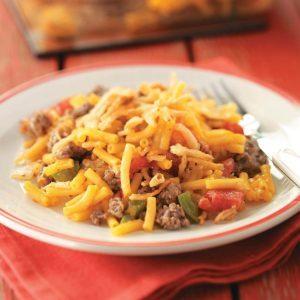 Hearty Macaroni Casserole