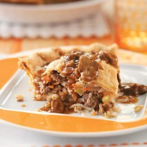 Hearty Meat Pie