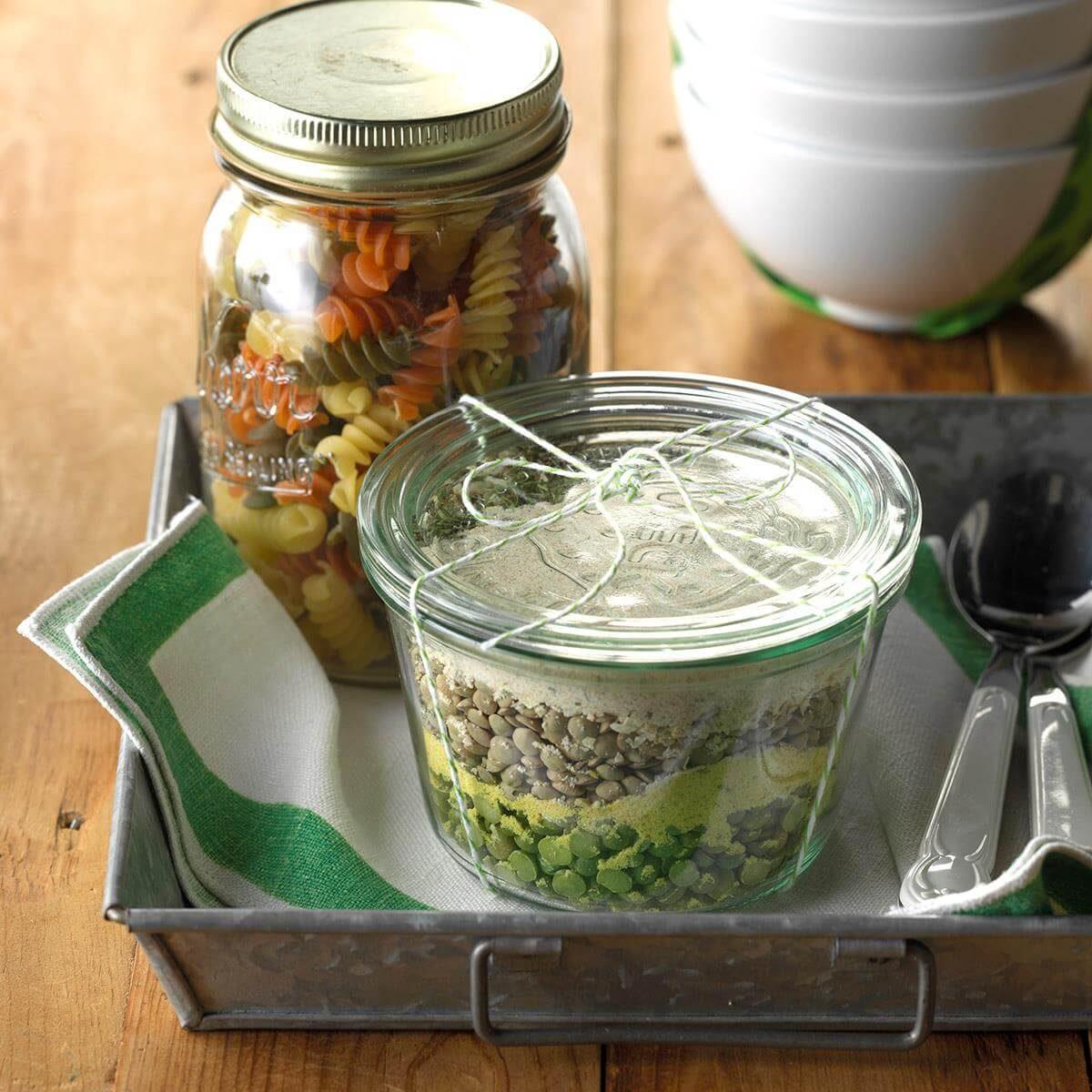 Hearty Pasta Soup Mix Recipe