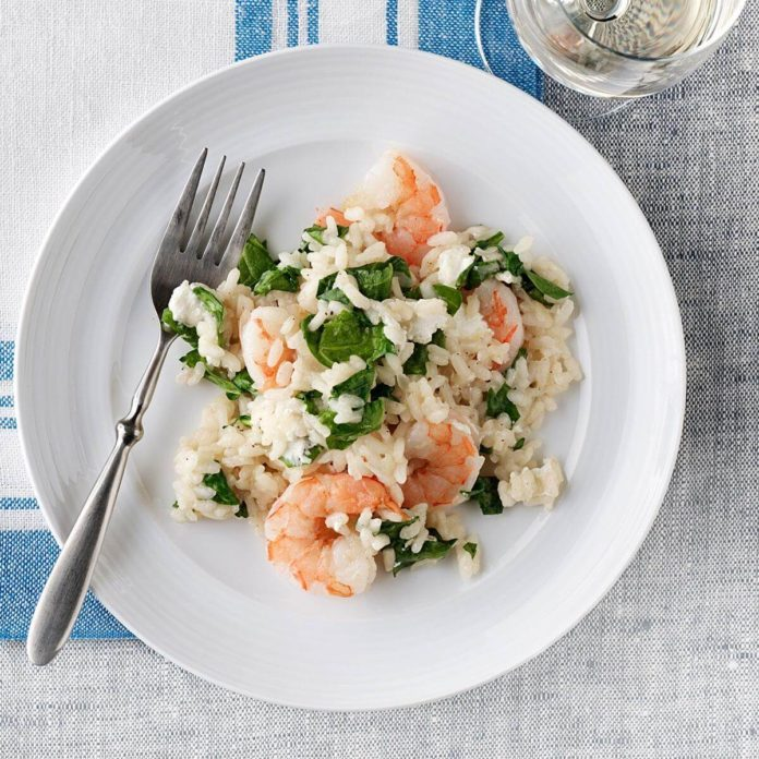Hearty Shrimp Risotto