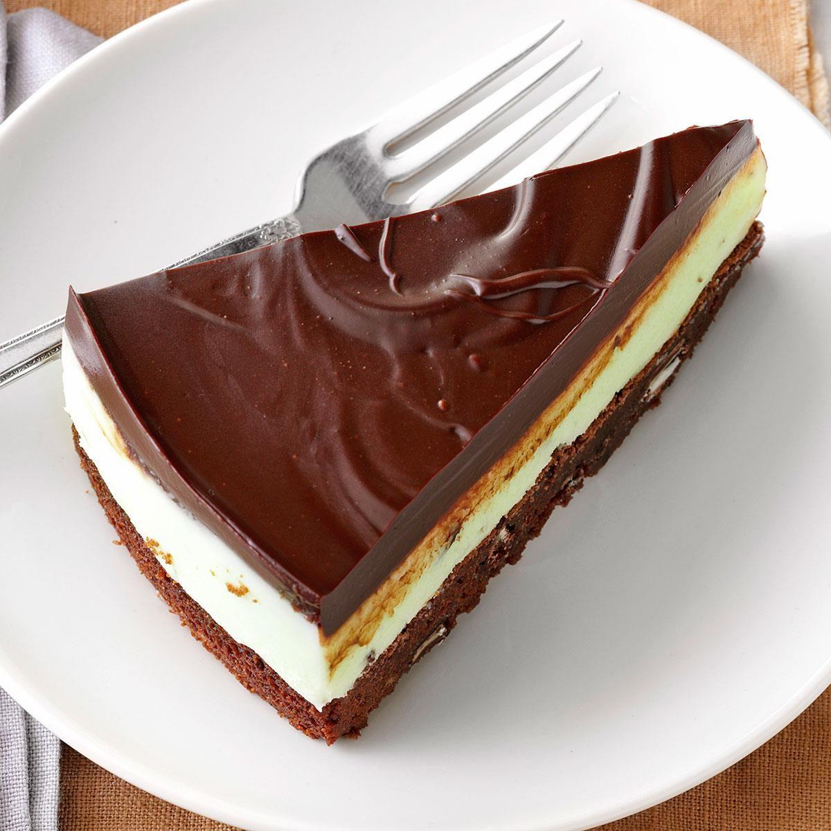 Heavenly Mint Brownie Dessert Recipe Taste Of Home