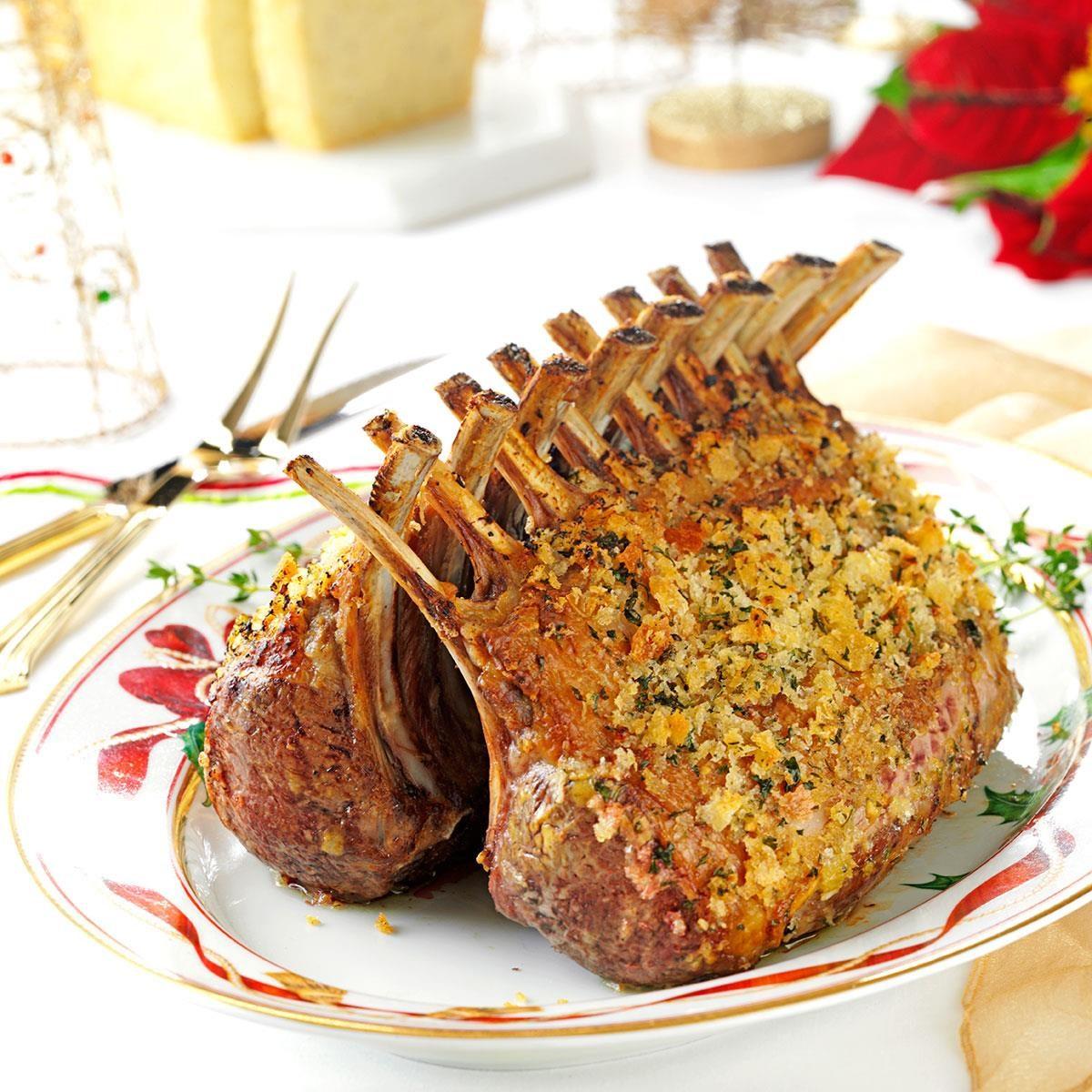 Herb-Crusted Rack of Lamb