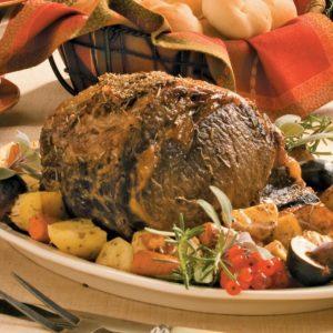Herbed Italian Rib Roast