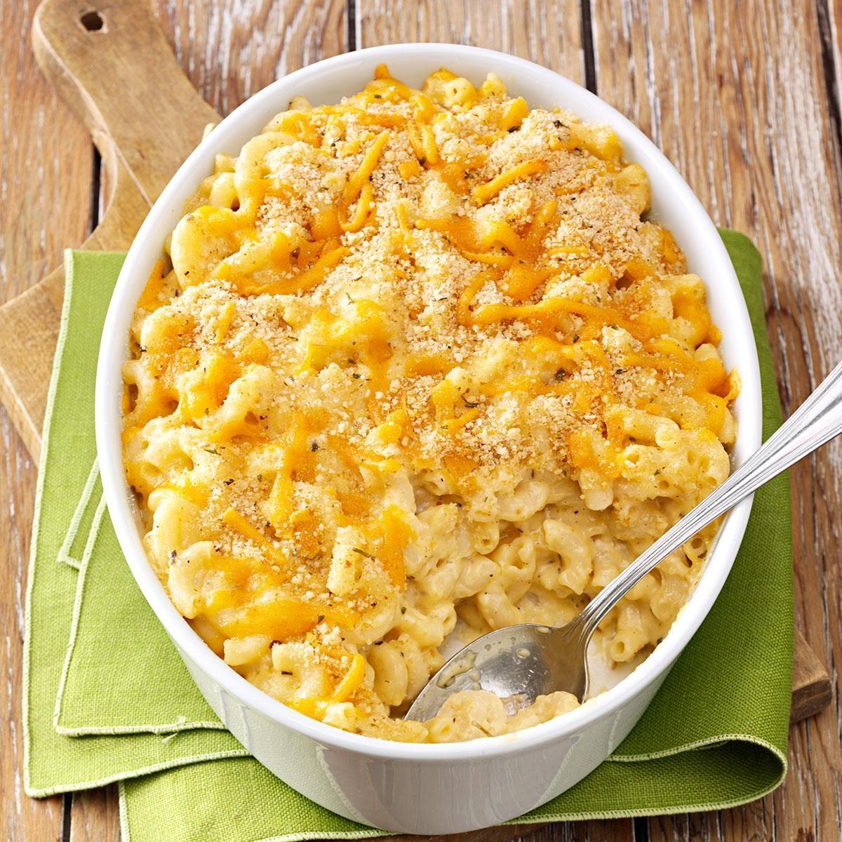 Herbed Macaroni And Cheese Recipe