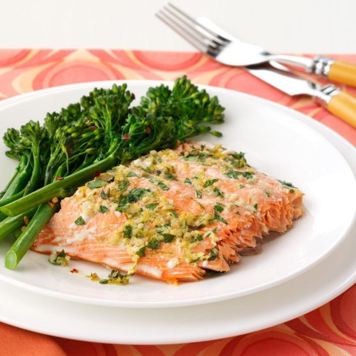 Herbed Salmon Fillet
