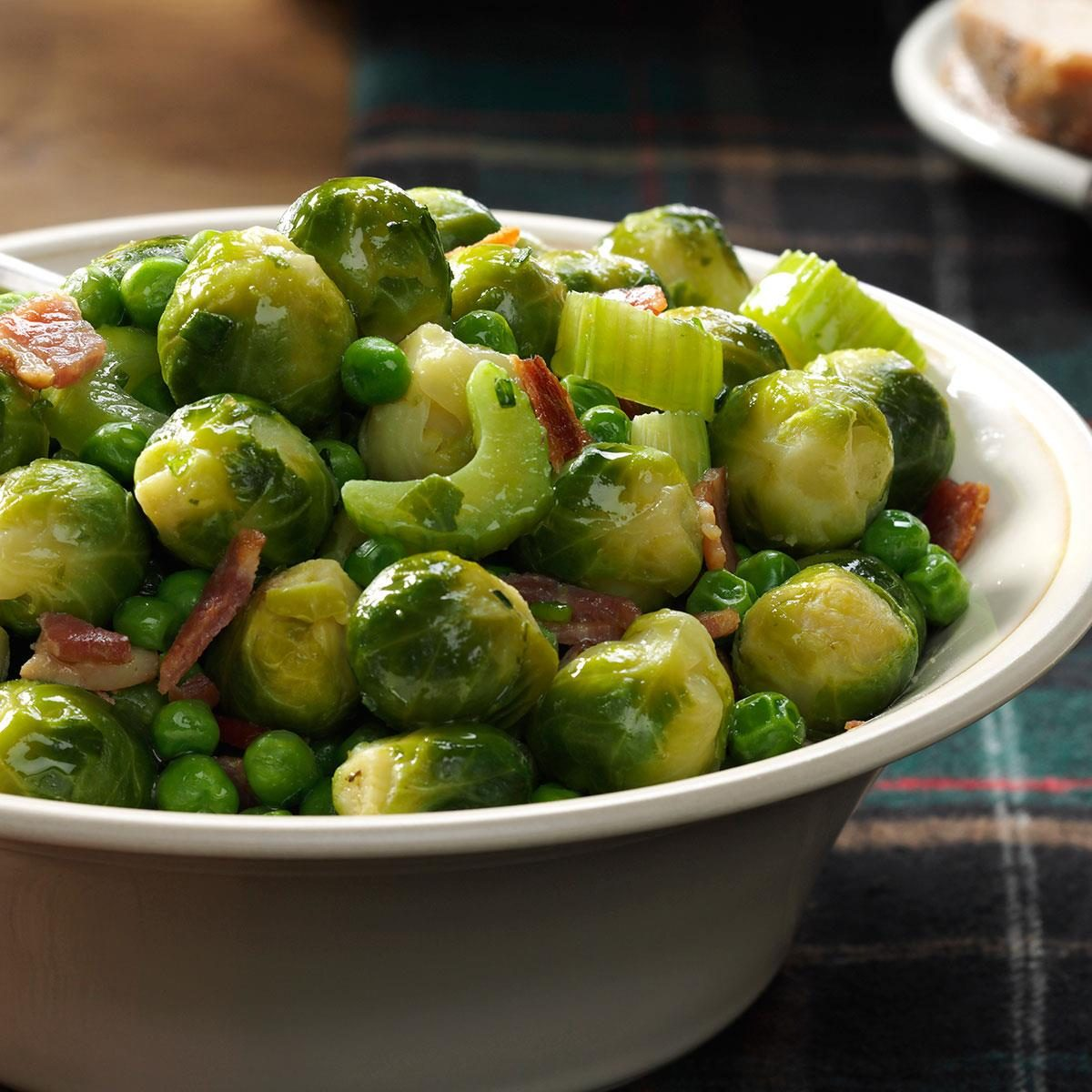 Holiday Brussels Sprouts Recipe