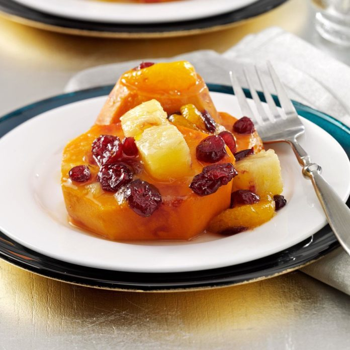 Holiday Citrus Sweet Potatoes