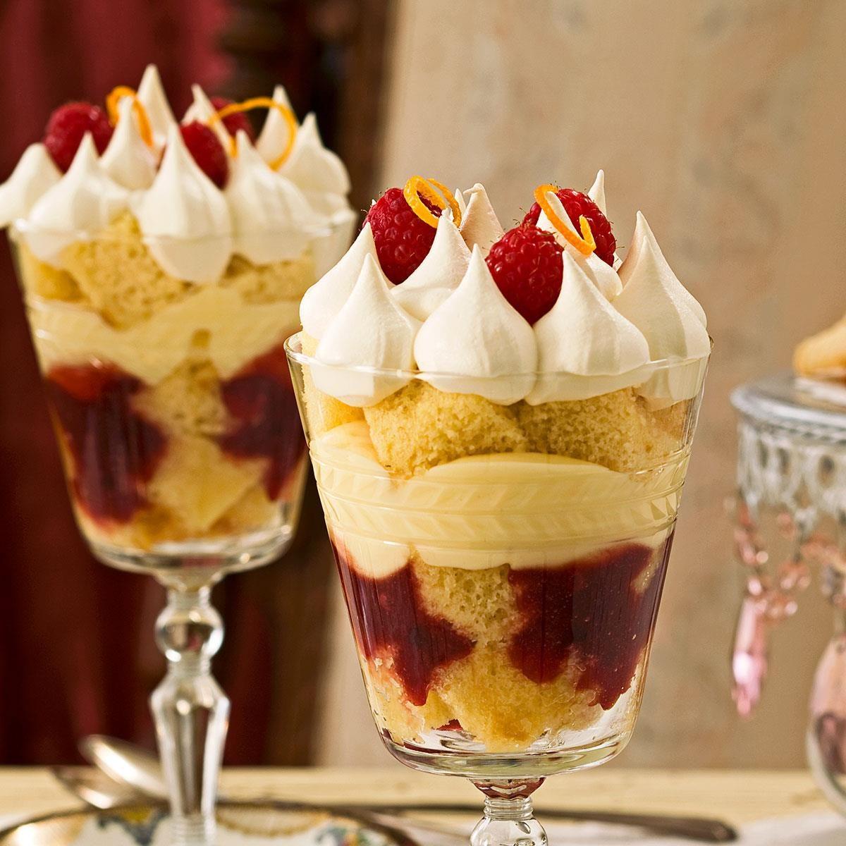 Holiday English Trifles Recipe