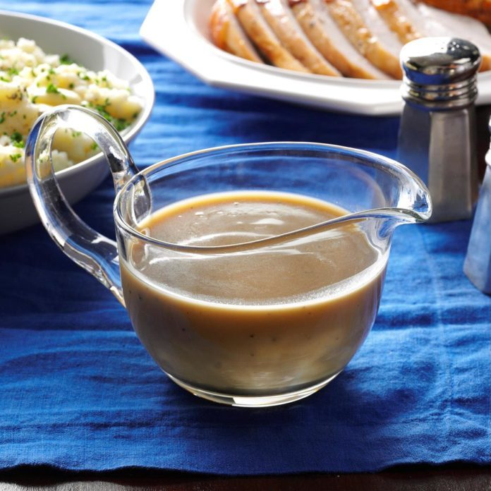 Holiday Turkey Gravy