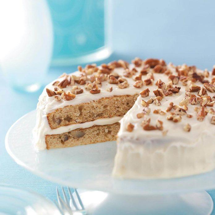 Mississippi: Homemade Makeover Italian Cream Cake