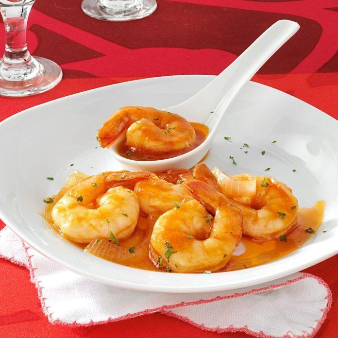 Homemade Marinated Shrimp