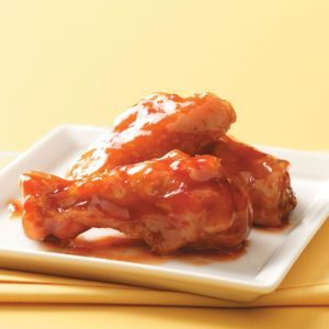 Honey-Barbecue Chicken Wings