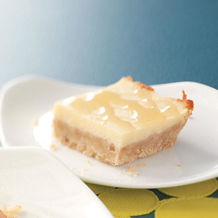 Honey Cheese Bars