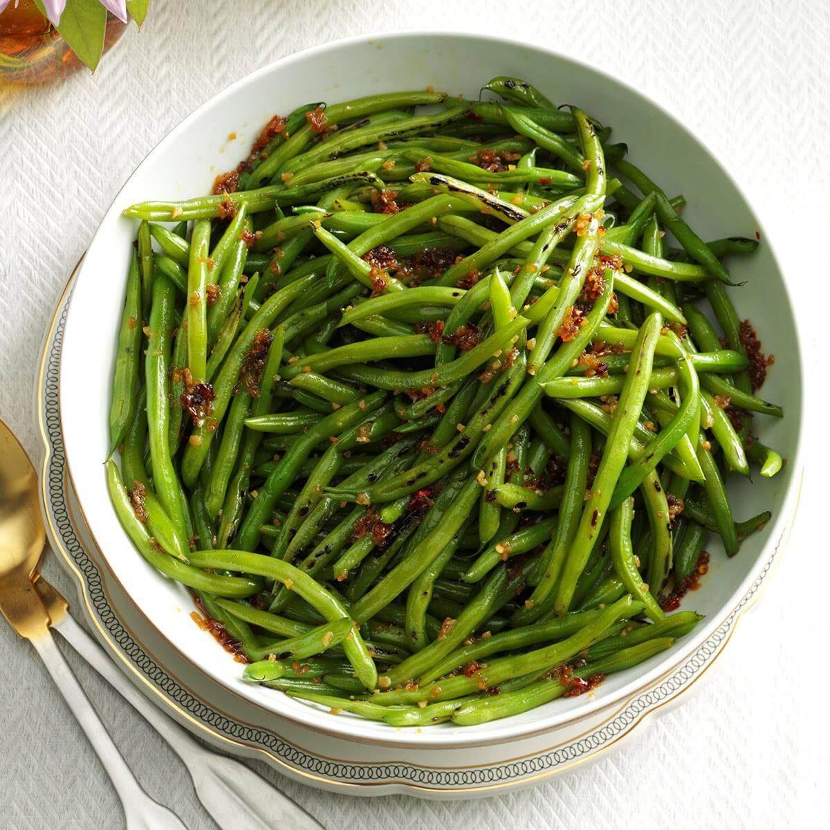 Honey Garlic Green Beans Recipe