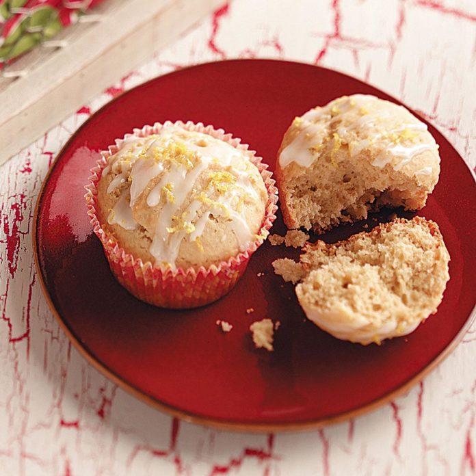 Honey Lemon Muffins