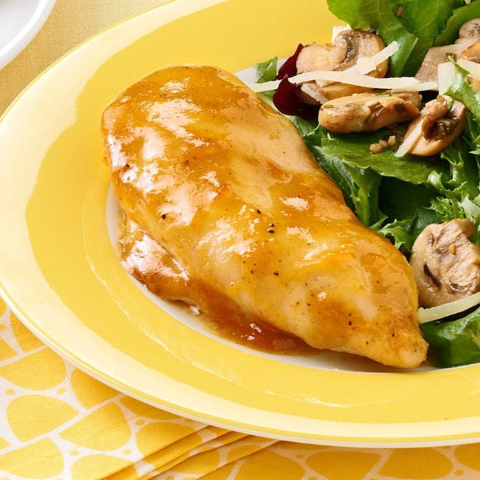 Honey-Mustard Apricot Chicken