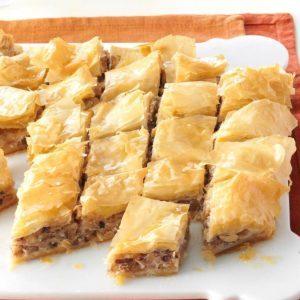 Honey Nut & Cream Cheese Baklava