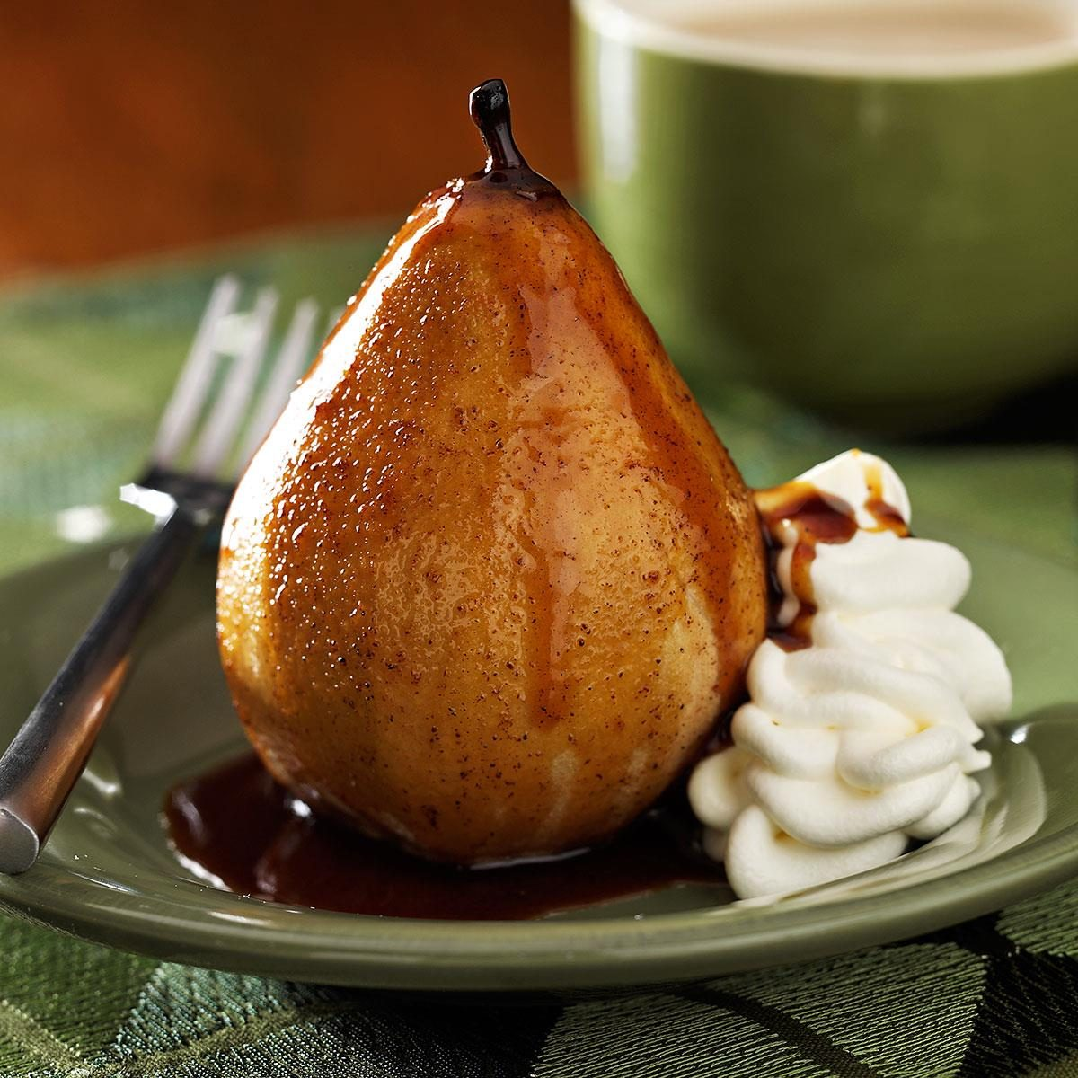 Home pears from pears: a few simple recipes