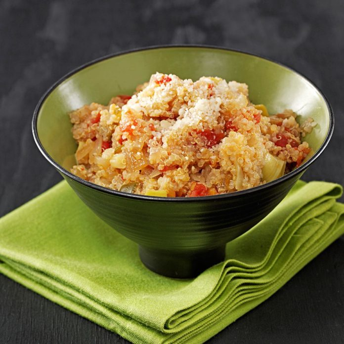 Hot and Zesty Quinoa