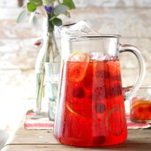 Iced Raspberry Tea