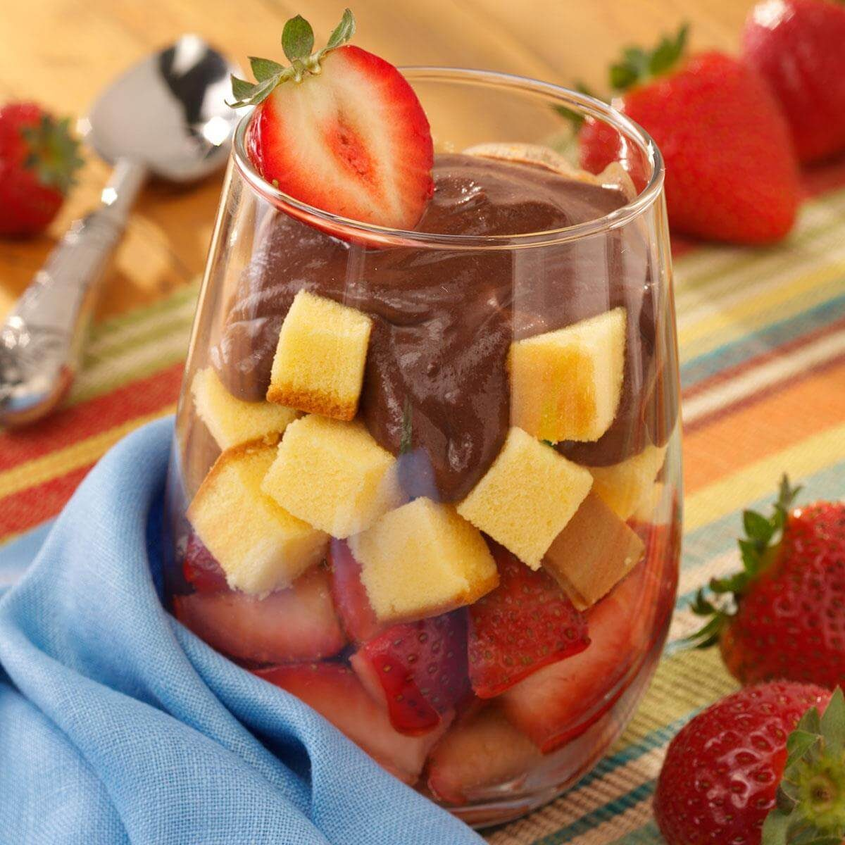 Top 10 Trifle Recipes: Individual Strawberry Trifles Recipe