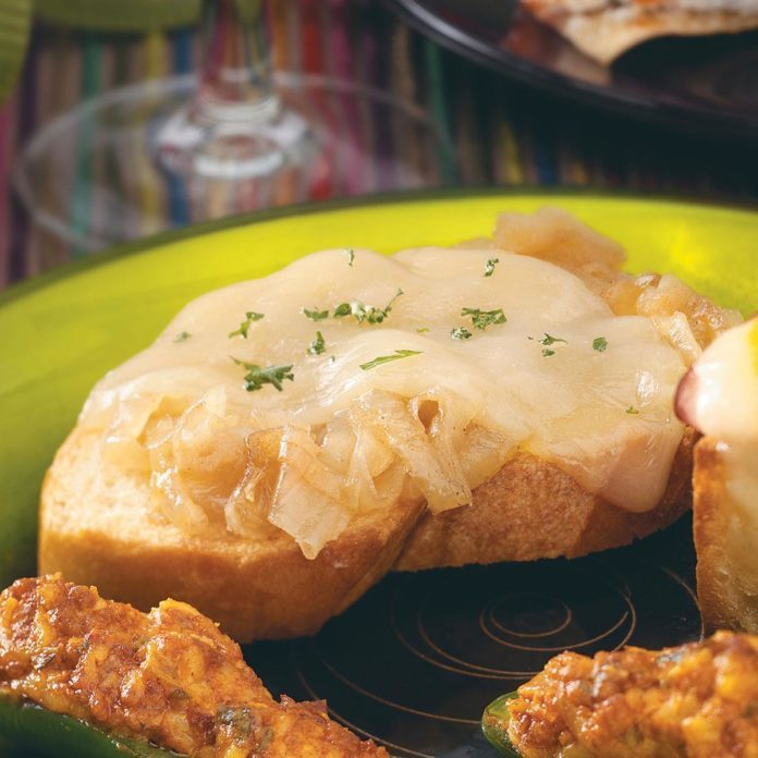 Inside-Out French Onion Soup