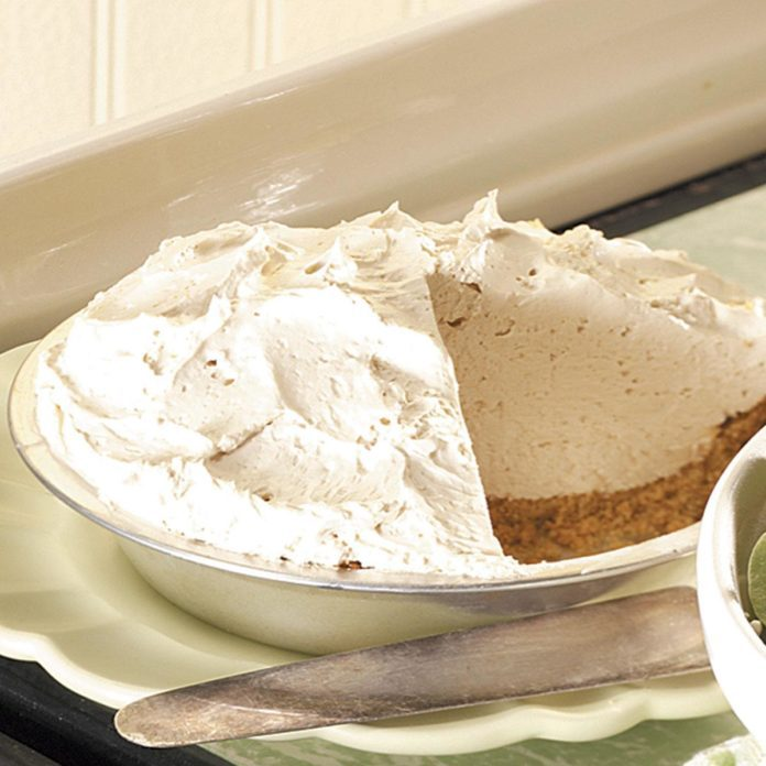 Irish Coffee Pie